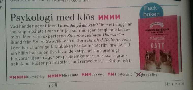 Recensioner i M magazine