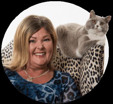 Susanne Hellman Holmström - kattbeteendevetare