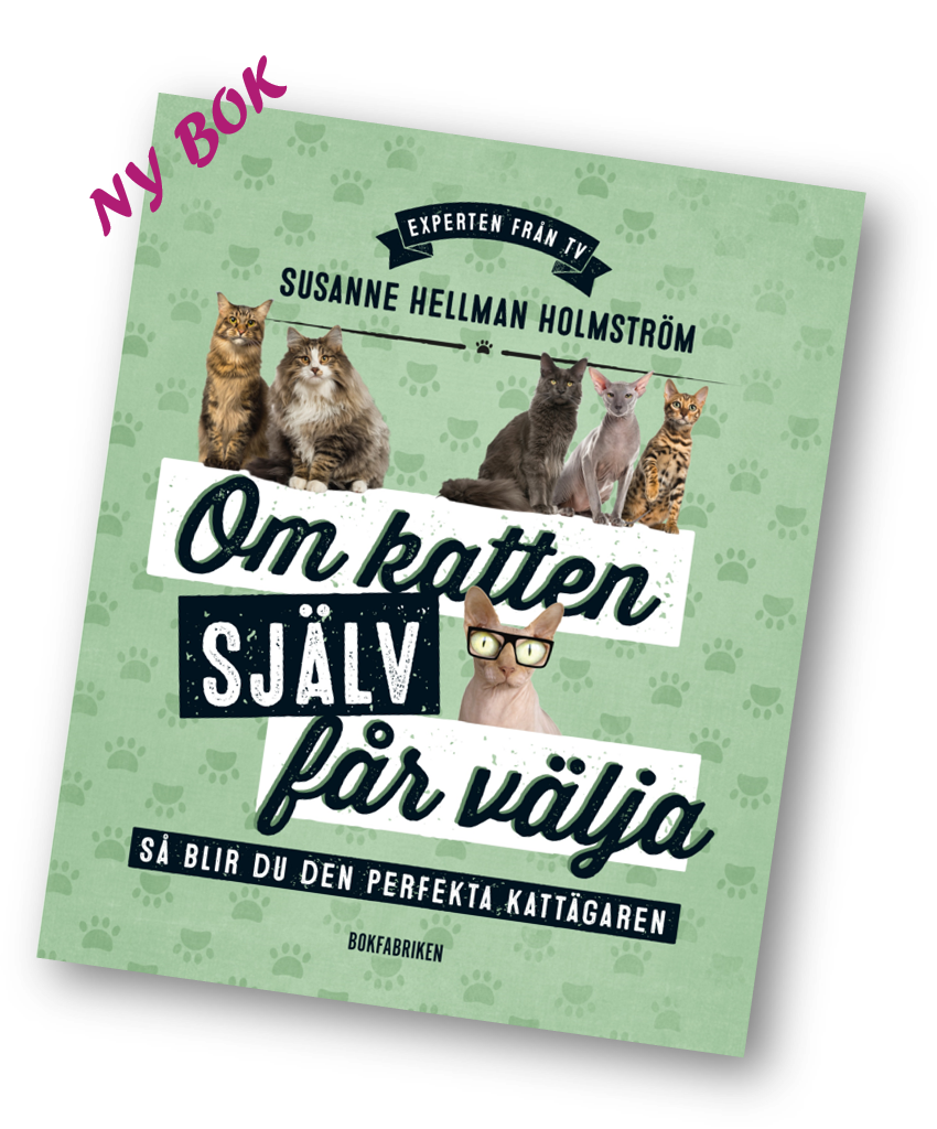 Ny bok - Om katten själv får välja - Katt expert